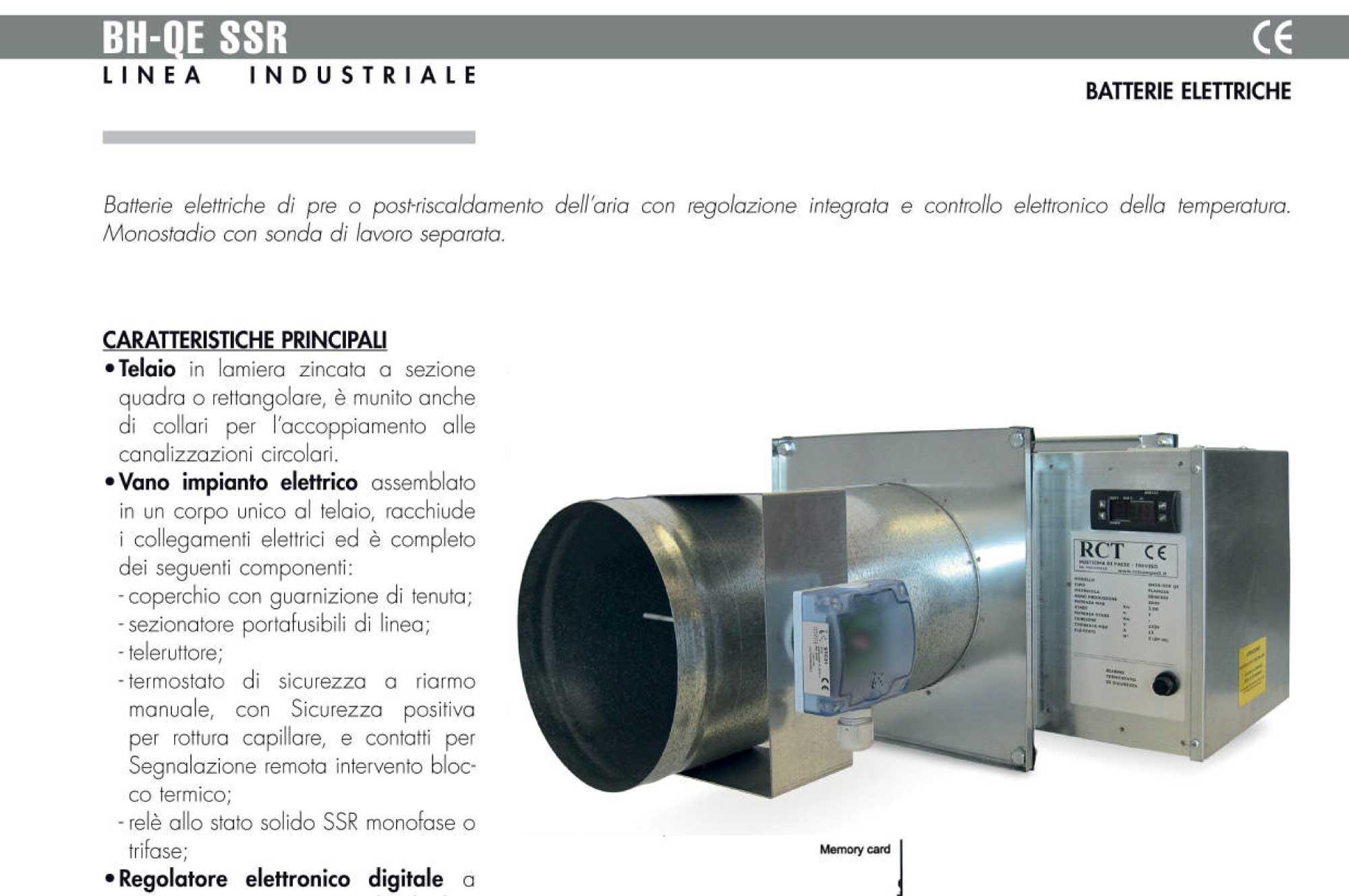 Riscaldamento Elettrico Ad Aria.Batterie Elettriche Per Riscaldamento Rct Compact